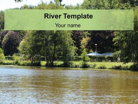 Powerpoint Themes River | free river powerpoint template