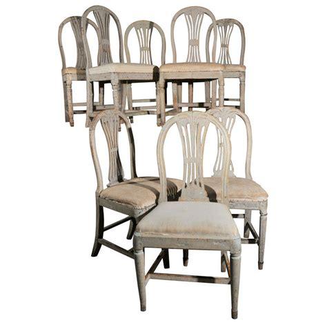 Swedish Chairs by Swedish Gustavian Dining Chairs