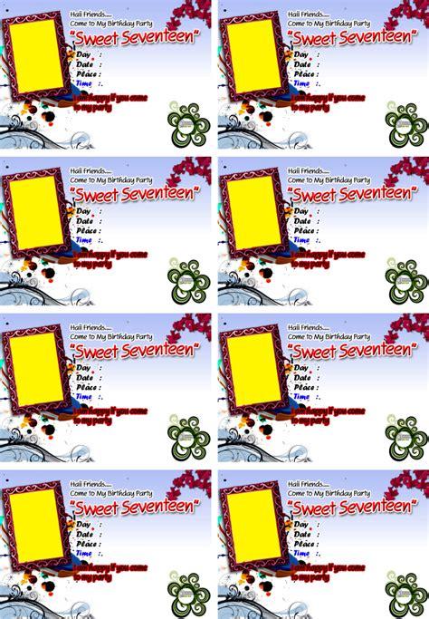 Mewarnai Gambar Anak Anak Contoh Kartu Undangan Ulang Tahun | mewarnai gambar anak anak contoh kartu undangan ulang