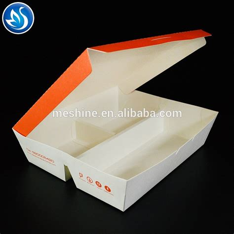 Paper Box Lunch Ukuran M disposable paper lunch box buy paper lunch box lunch box