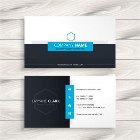 modern business card templates vector modern business card design vector free
