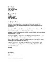 Career Fair Cover Letter by Cover Letter Sle Fair Covering Letter Exle