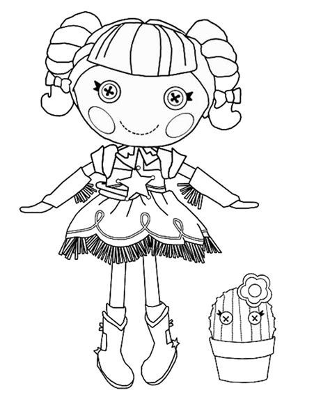 Free Coloring Pages Of Alice Lalaloopsy Lalaloopsy Coloring Page