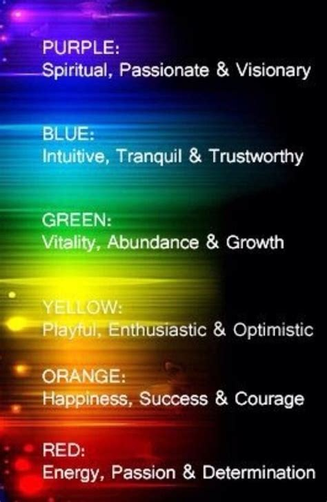 color meanings feng shui  colors  pinterest