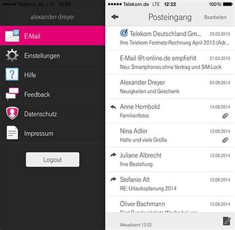 telekom apps telekom t online de mail app der telekom erreicht das ipad ifun de