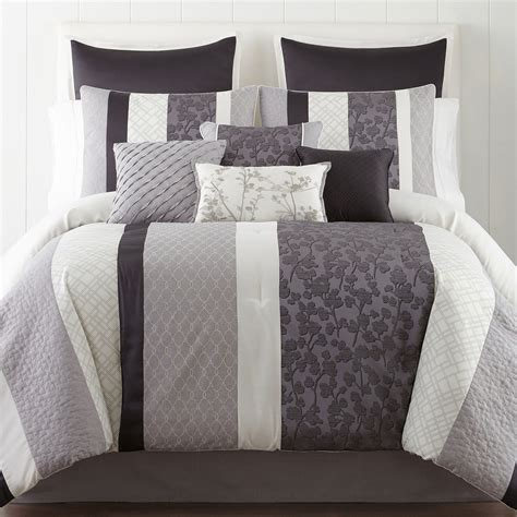 Cost To Clean Comforter by Deals Home Expressions Nuance 10 Pc Comforter Set Limited
