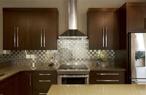Metal Kitchen Backsplash Ideas May 2014 Bray Scarff Kitchen Design