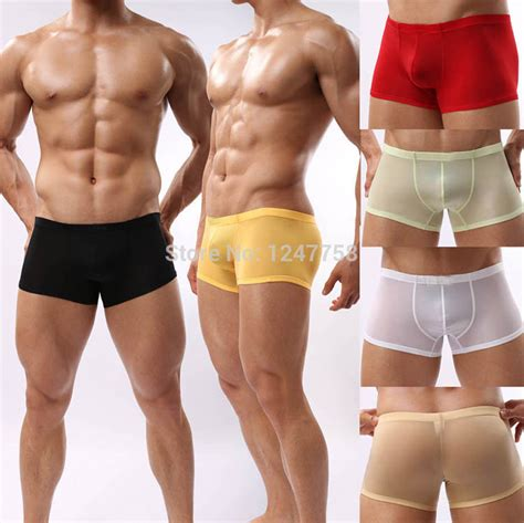 Buy 1 Get 1 Free Promo Gila Boxer Celana Dalam Pria Limited aliexpress buy mens boxers sheer boxer shorts pouch cheap price