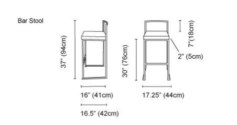 how to measure for bar stools 11 best images about seating on pinterest ux ui designer