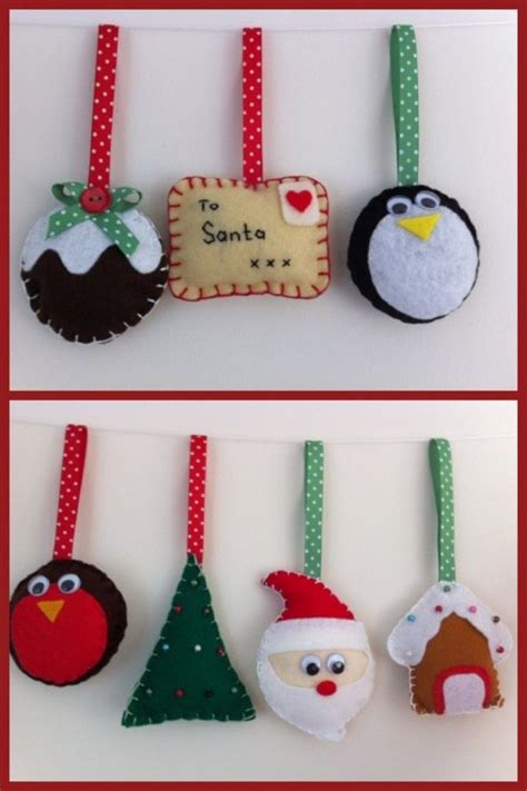 25 best ideas about felt decorations on pinterest felt
