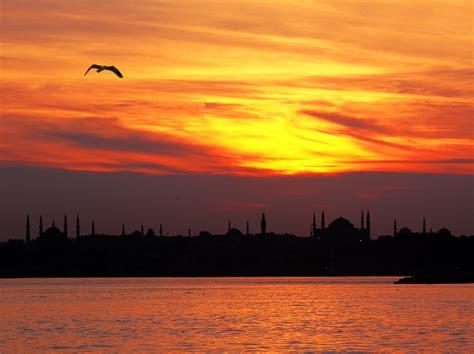 istanbul sunset  photo  istanbul marmara trekearth