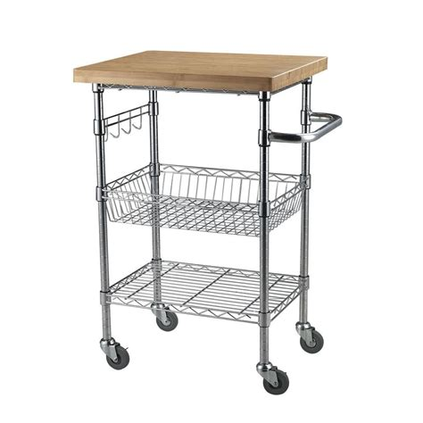 Home Depot Cart by Sandusky 5 Cu Ft 24 In W Utility Cart Cw4824 The Home