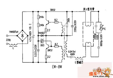 circuit diagram of electronic choke ew 8w electronic ballast circuit diagram basic circuit