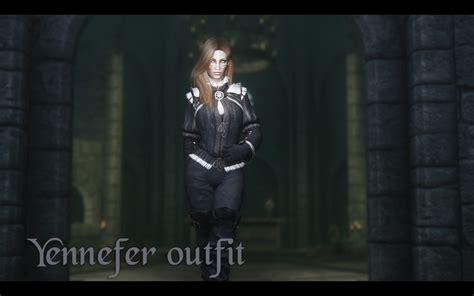 witcher 3 yennefer and triss armors at skyrim nexus mods 最新人気mod skyrim mod データベース