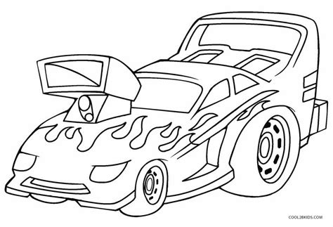 Printable Coloring Pages Hot Wheels | printable hot wheels coloring pages for kids cool2bkids