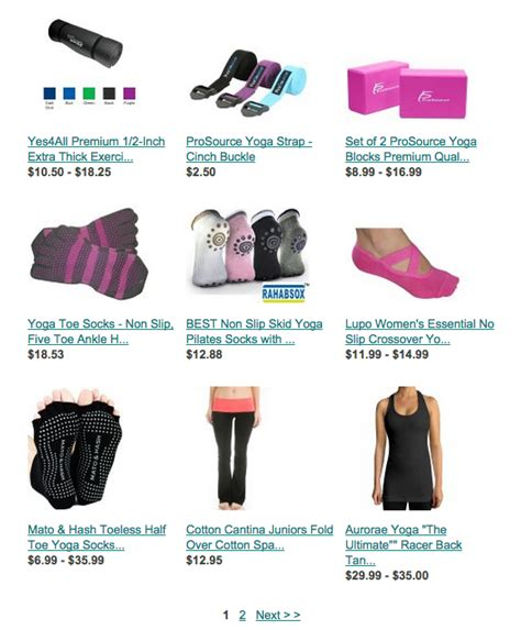 top pilates session packages or workout equipment holiday
