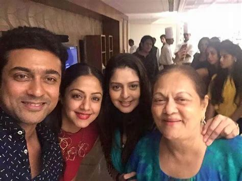 actor jyothika sister photos happy birthday jyothika birthday celebration pics