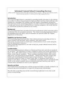 counselling consent form template best photos of informed consent exle counseling forms
