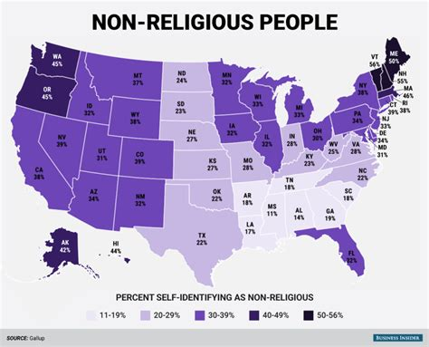 religion by state religion united states of america pictures to pin on