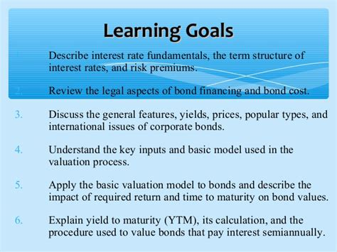Bond Mba Requirements by Bba 2204 Fin Mgt Week 6 Bonds