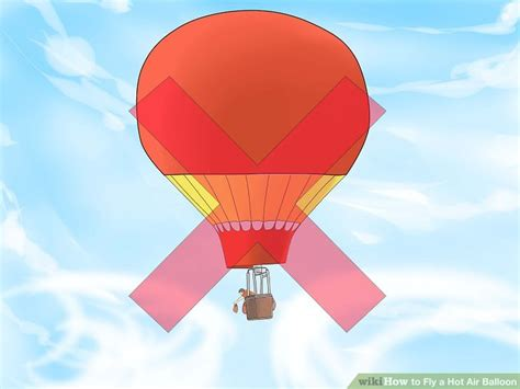 How To Make A Paper Balloon Fly - how to fly a air balloon with pictures wikihow