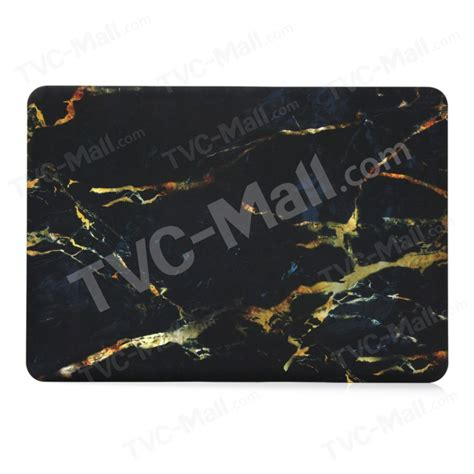 Macbook Pro Retina 13 Black Yellow Marble marble pattern shell for macbook pro 13 3 with retina