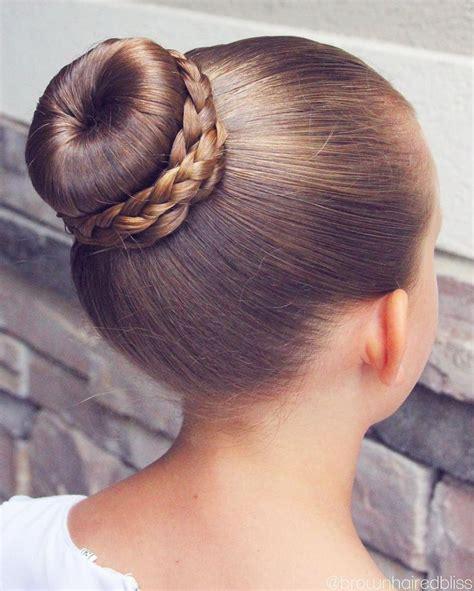dance small bun with braid hairpiece the 25 best ballet buns ideas on pinterest ballet