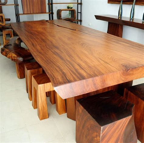 Meja Makan Jati Solid set meja makan kayu solid supplier furniture jepara
