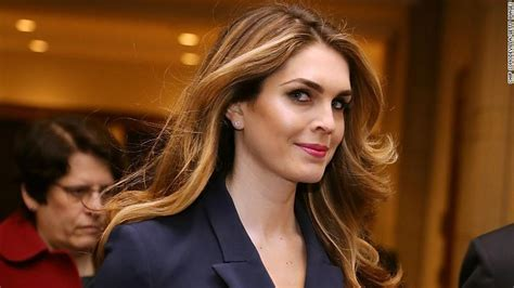 hope hicks attorney hope hicks a witness to trump s rise cnnpolitics