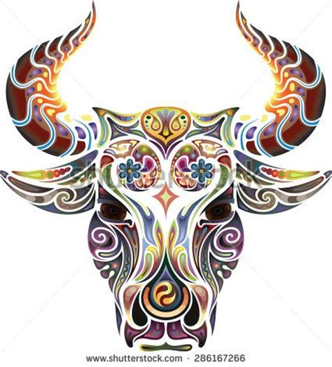 ox tribal tattoo best 25 taurus bull tattoos ideas on bull