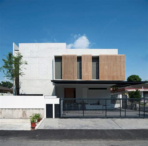 home design magazines malaysia concrete residence in malaysia by seshan design decoration