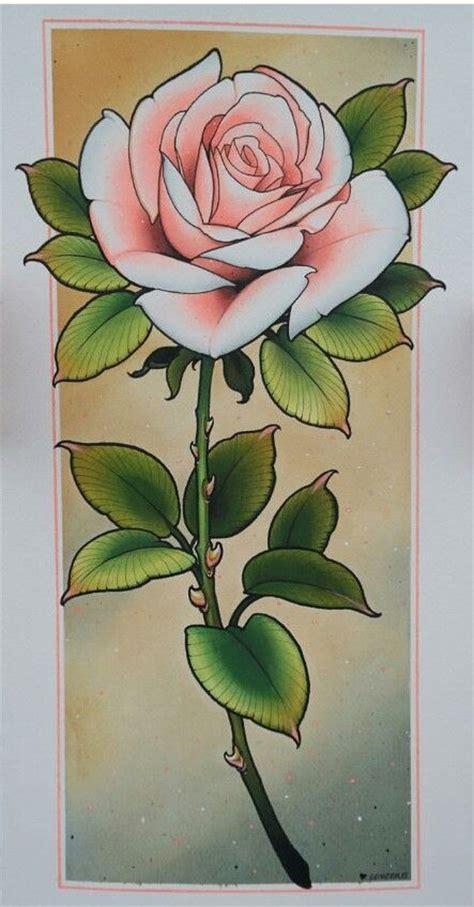 new school rose tattoo new school dise 241 o ideas roses