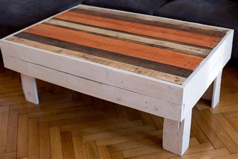 Diy Wood Pallet Coffee Table Diy Coffee Table Top