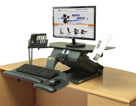 Ideas Throw Out Your Current Desk With Standing Desk Standing Desk Topper