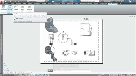 que es modelo y layout en autocad tutorial autocad 2013 crear vistas desde modelo 3d youtube