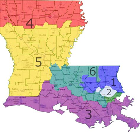 louisiana district map how gerrymandering cost democrats the house in 2012 an