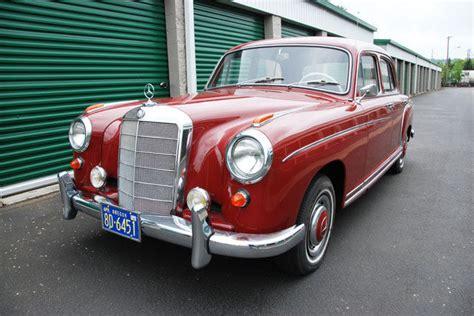 1957 mercedes 220s 1957 mercedes 220s sedan same owner for the last 52 years