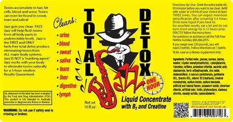 Jazz Total Detox by 10oz Jazz Total Detox