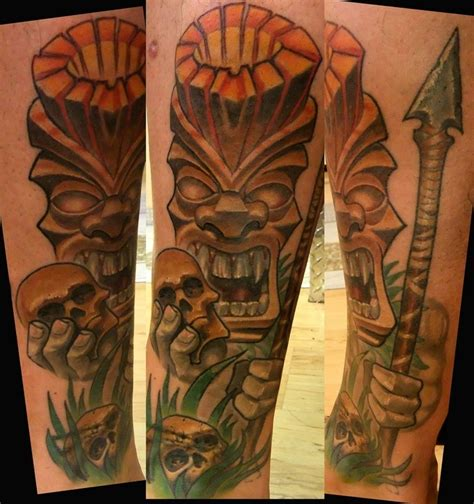 17 best images about tiki tattoos for tof on pinterest