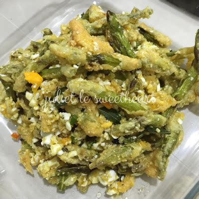 Rakik Kacang Udang Rb Readystock juliescookingwithluv kacang buncis telur asin