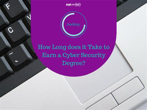 how long does it take to do an onbre how long does it take to earn a cyber security degree