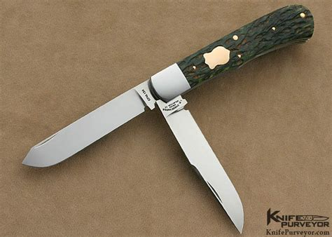 Tom Handcrafted Knives - tom overeynder 2 blade remington 1123 slip joint