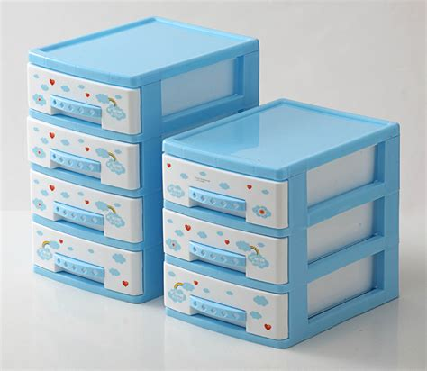 6 drawer plastic storage cabinet four layer cabinet drawer storage cabinet desktop cabinet