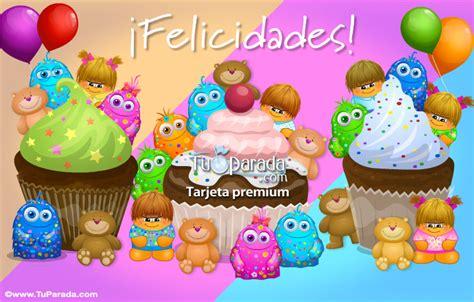 imagenes para felicitar cumpleaños en facebook muchas felicidades con cosas ricas cumplea 241 os tarjetas