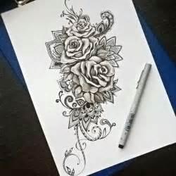 Flower Half Sleeve Tattoos For Girls - 25 best ideas about rose mandala tattoo on pinterest