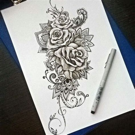mandala rose tattoo 17 best ideas about tattoos on