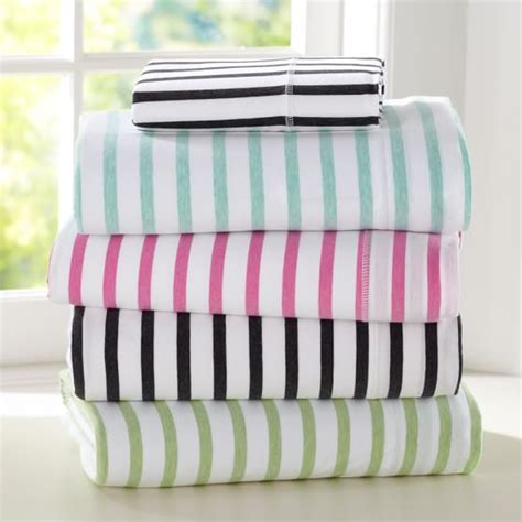 Stripe Simple Set simple stripe favorite sheet set pbteen