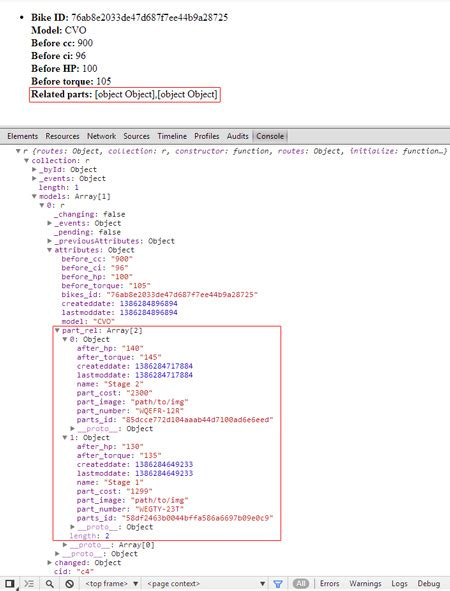backbone template backbone stackmob sub models render to html