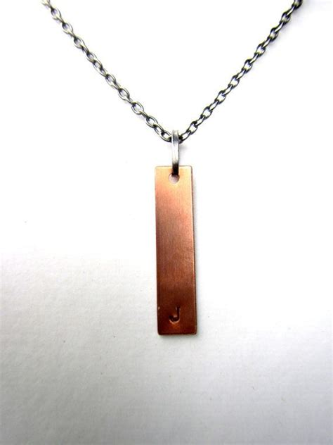 mens personalized necklace initial necklace monogram