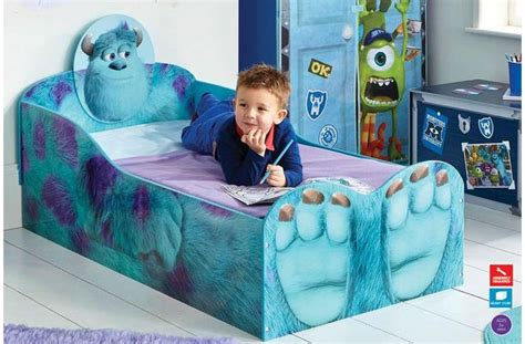 monsters inc bedroom monsters inc toddler bed mattress warren s 2 room